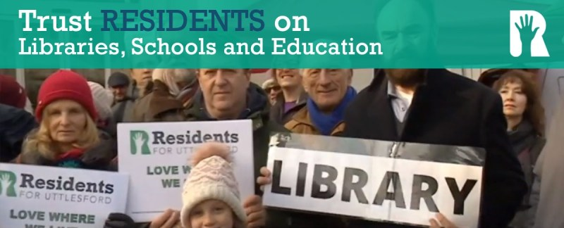Trust RESIDENTS on Libraries, Schools and Education