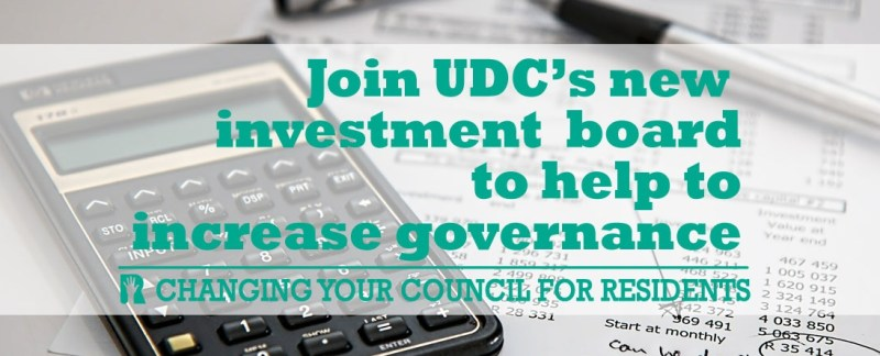 Recruitment starts for independent members to join new UDC Investment Board to boost governance
