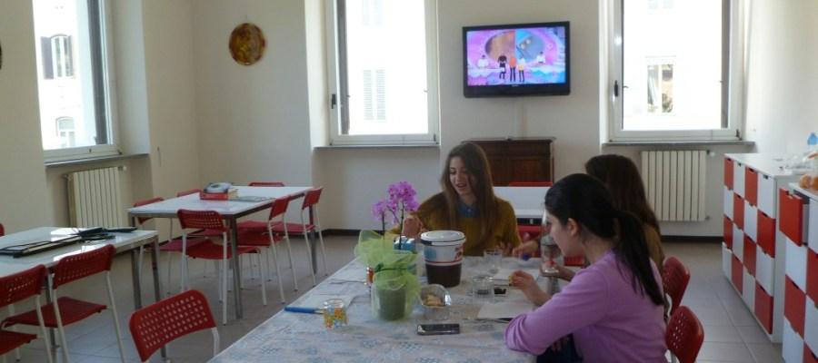 Sala da pranzo - Residenza Universitaria Roma