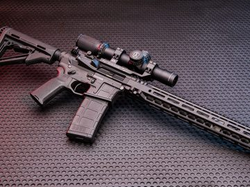 Resilient Arms Custom Handicap Rifle