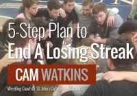 5-Step Plan to End A Losing Streak - Cam Watking, St. John's Wrestling