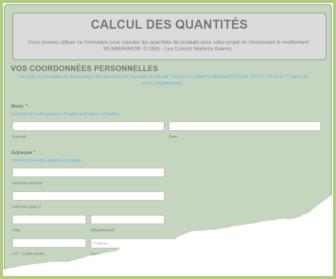 Calcul des quantités
