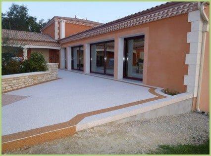 prix d une terrasse en resine de marbre