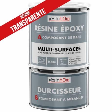 resine epoxy multi surfaces transparente incolore 0 5l