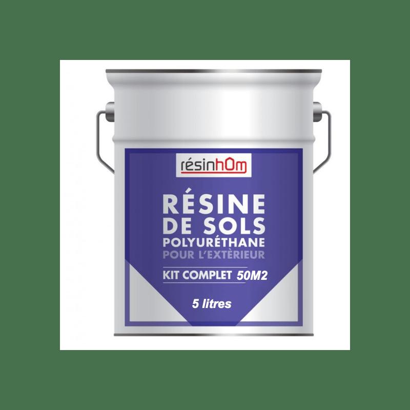 resine polyurethane sol exterieur 5litres pour 50m2