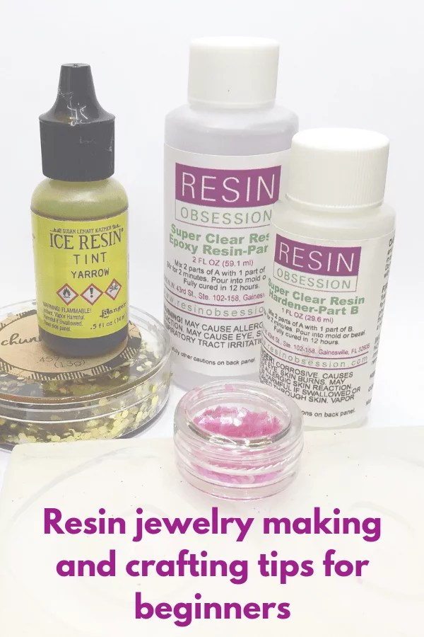 Beginner questions about resin jewelry making - Resin Obsession