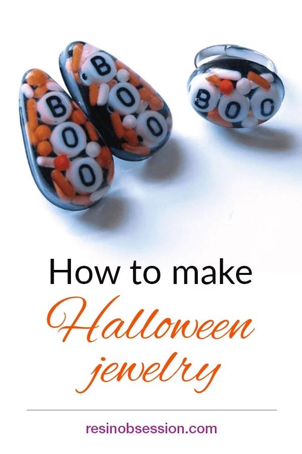 How to make Halloween jewelry