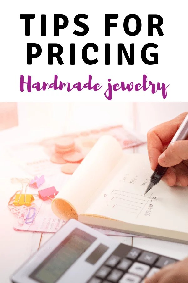 tips for pricing handmade jewelry