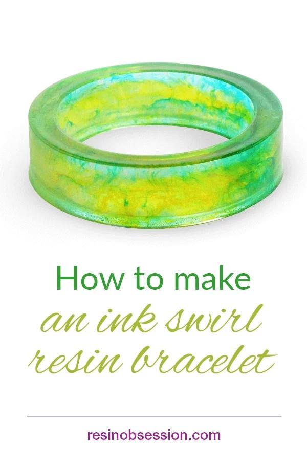 resin bracelet making