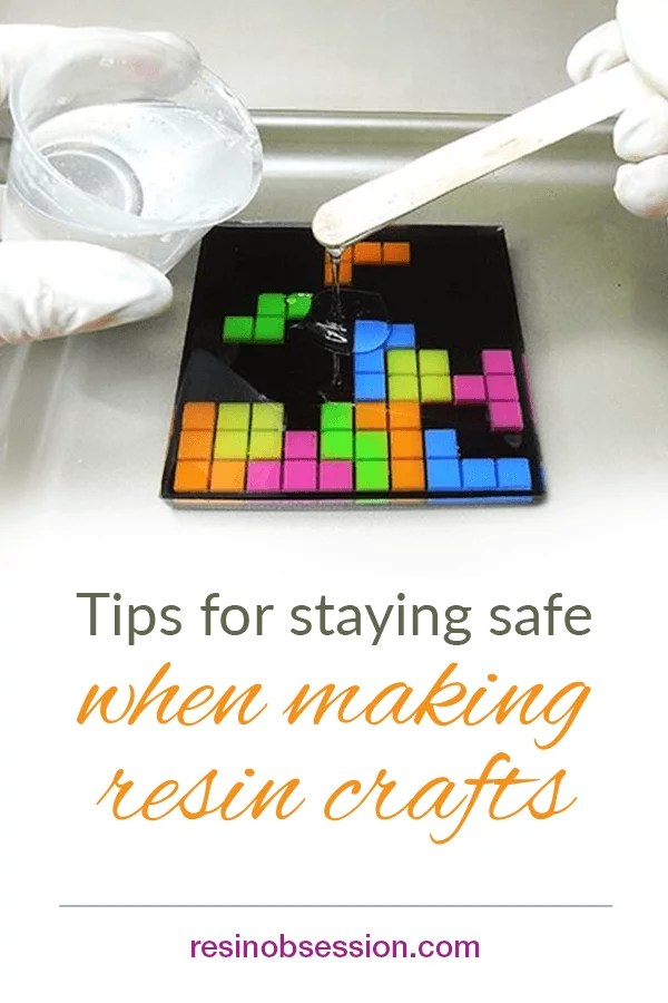 resin craft safety tips