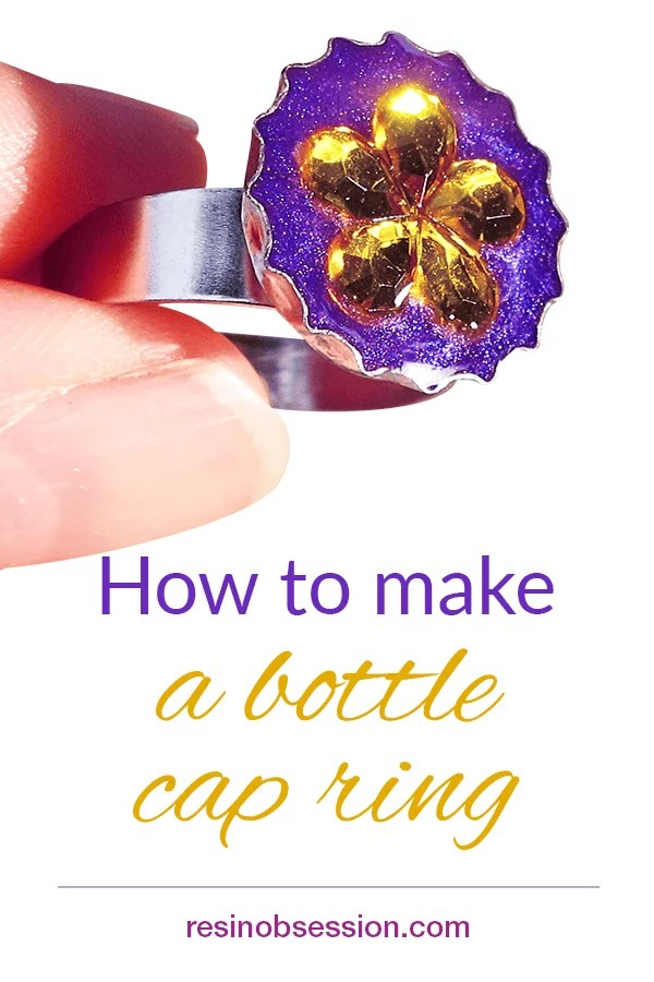 How to make a bottle cap ring