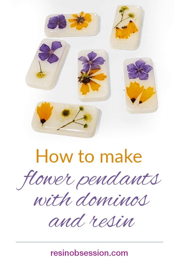 how to make domino pendants