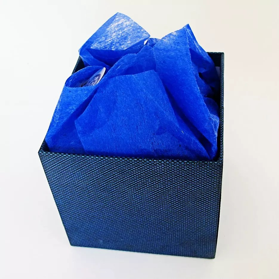 box with paper