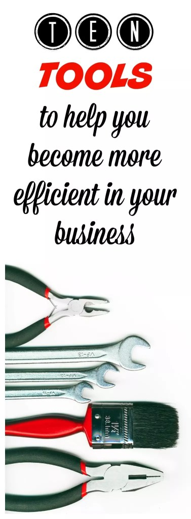 ten business productivity tools