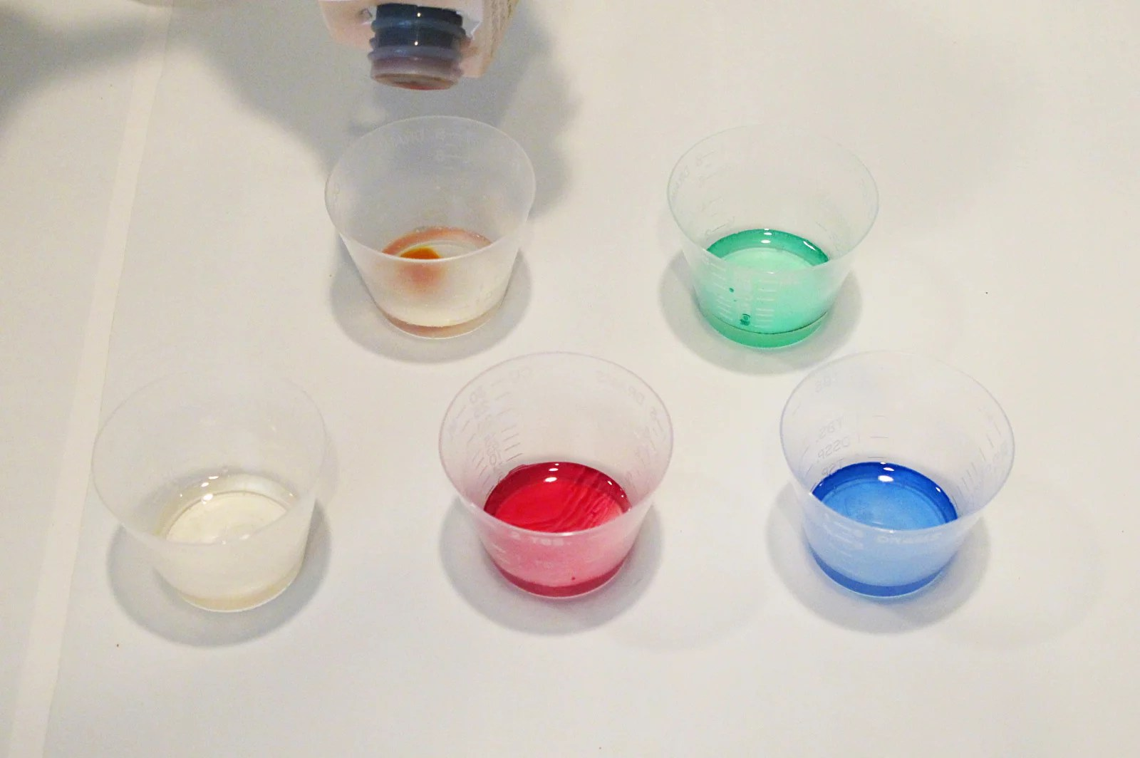 transparent resin colors