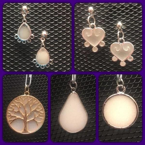 breast milk jewelry kit
