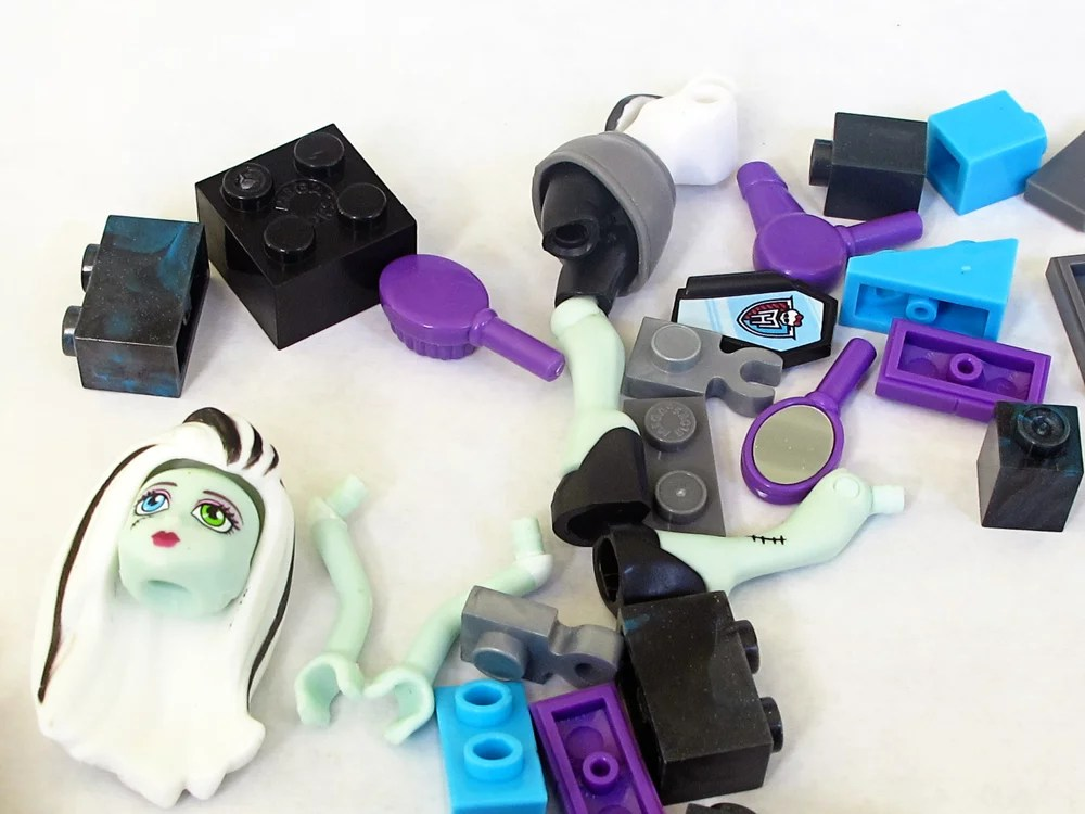 monster high doll parts