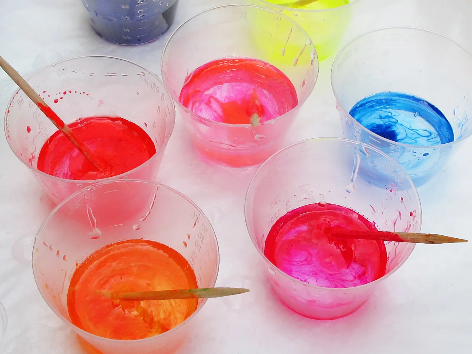 neon colors polyester casting resin