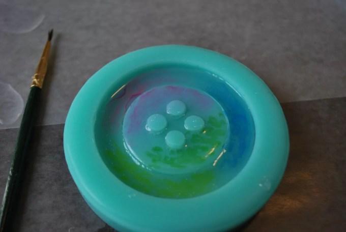resin button mold