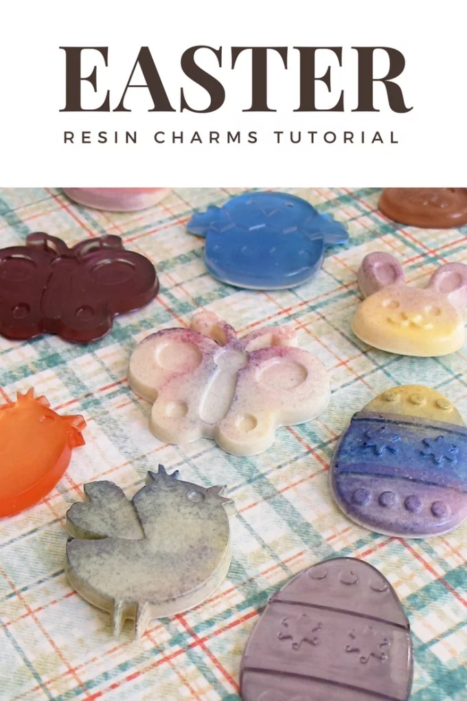 resin charms tutorial