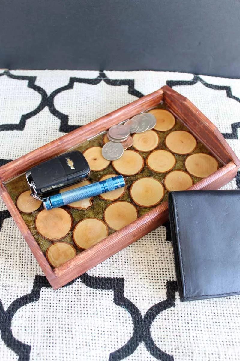 resin tray DIY