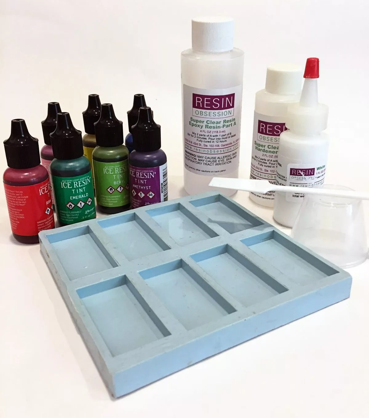 Resin And Alcohol Inks Resin Obsession - Coloring resin with alcohol ink