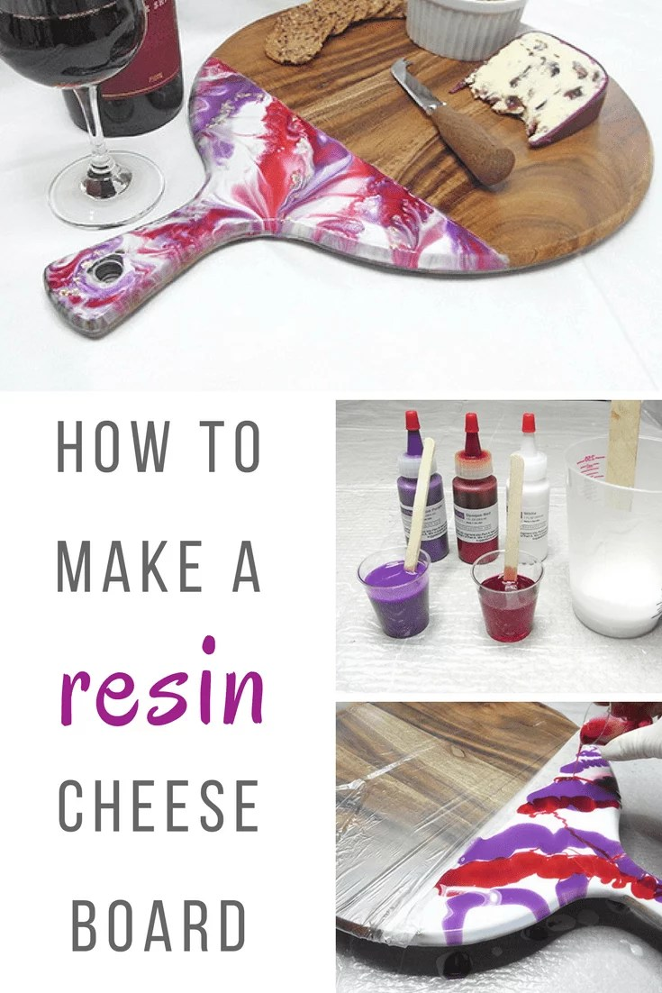 How To Make A Resin Cheese Board Resin Obsession