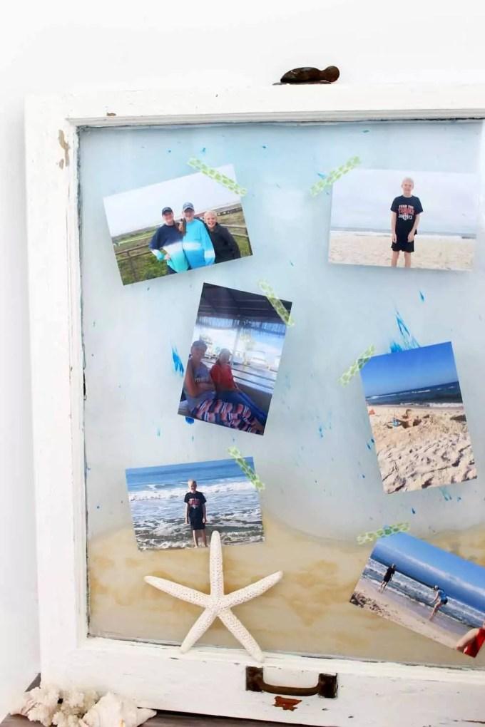 DIY beach craft