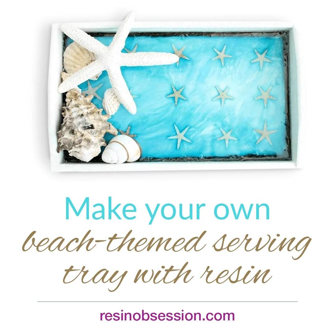 Beach Serving tray
