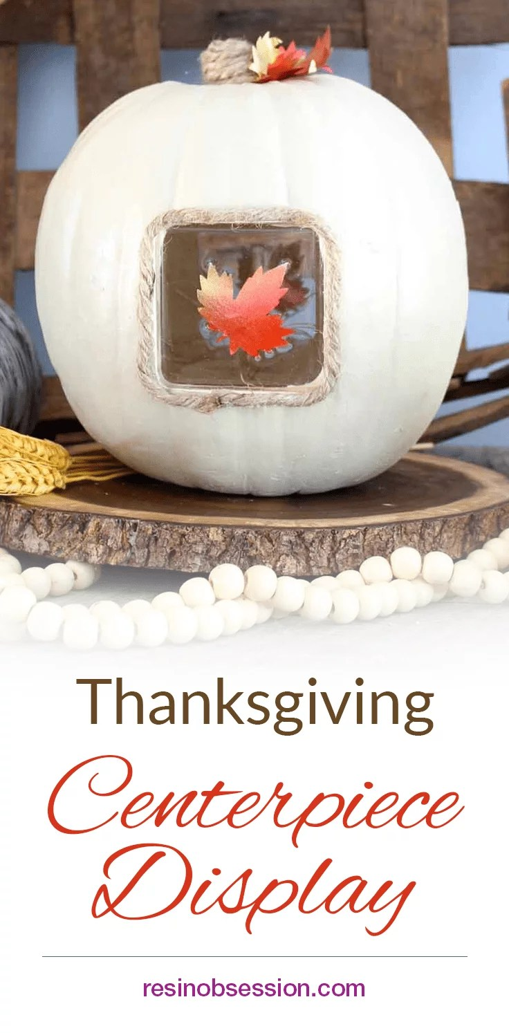 How to make a light up thanksgiving centerpiece display