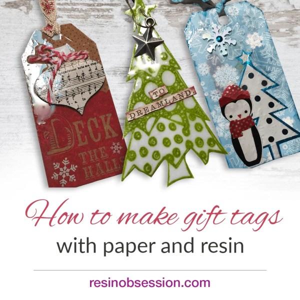 How to make Christmas gift tags