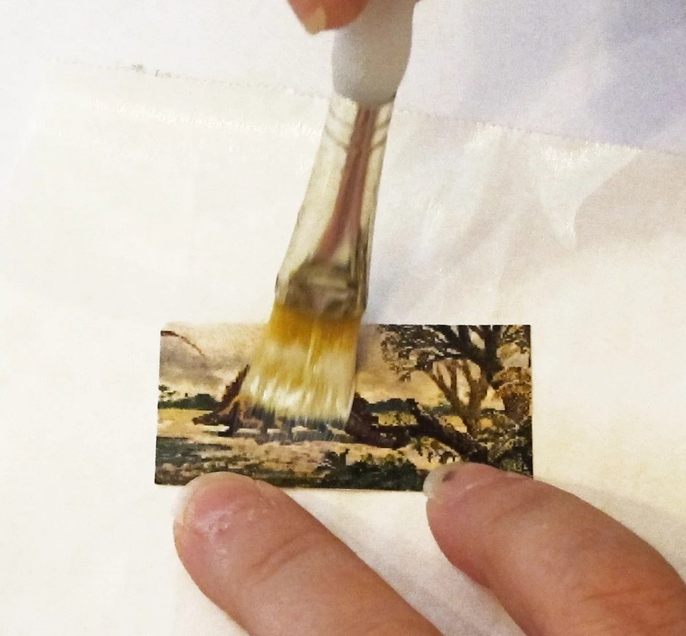 sealing clip art with glue