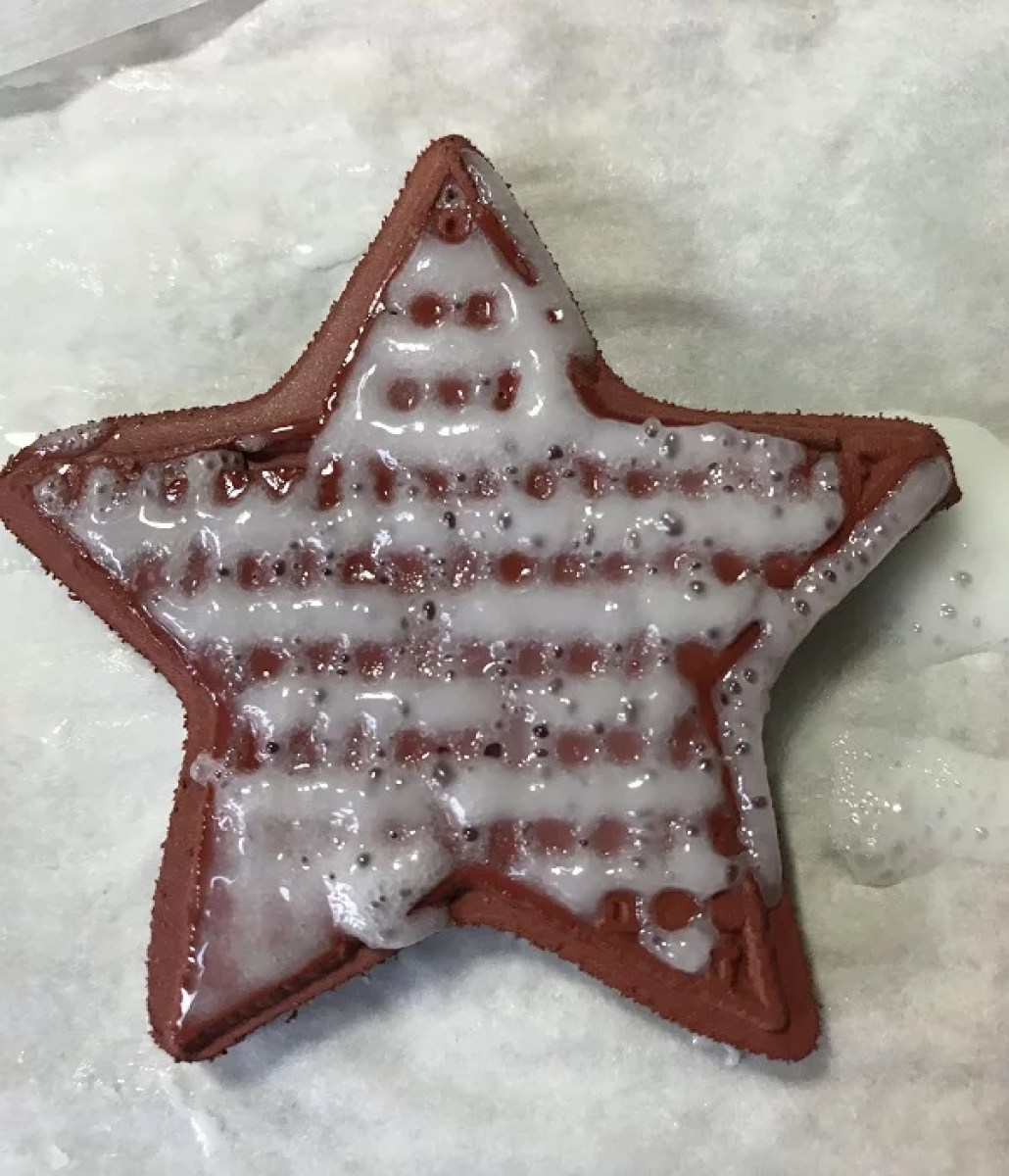 star shaped resin stamp