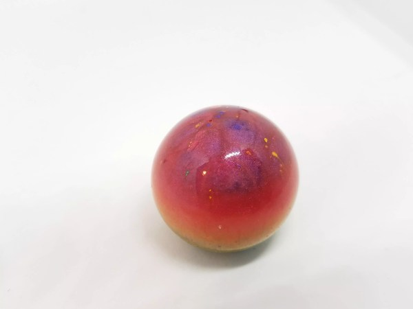 multi-colored resin orb