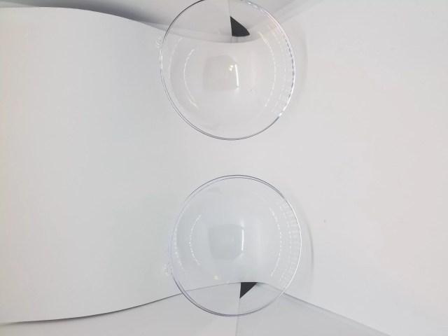 plastic domes