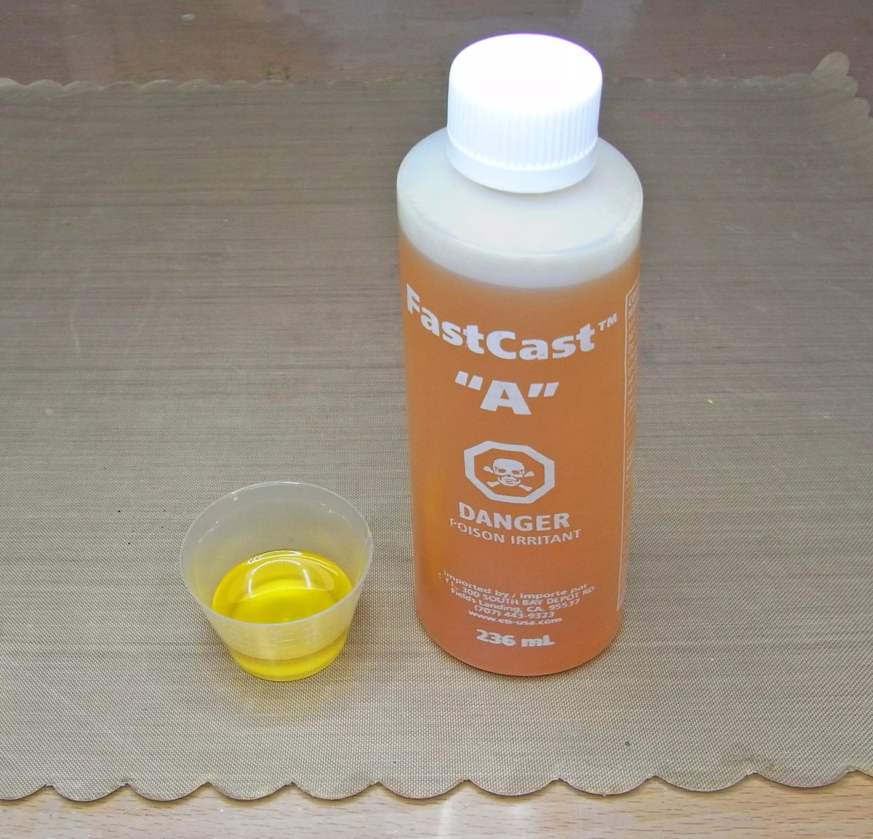 fastcast part a resin