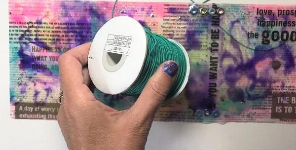 cuting elastic for resin cut