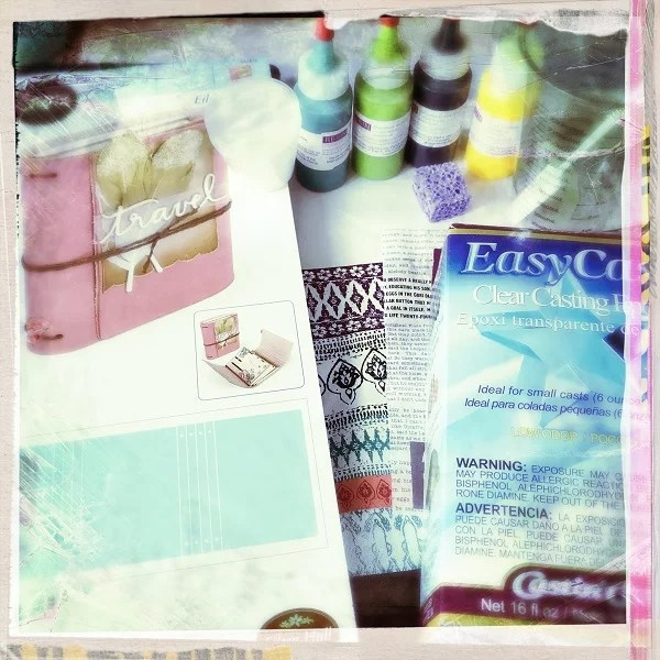 resin journal cover supplies