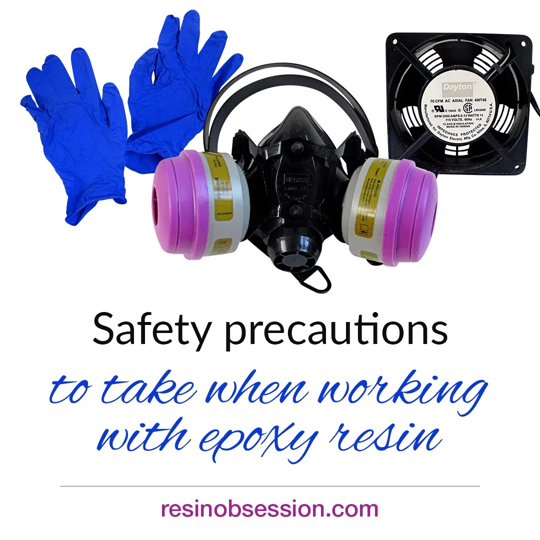 Epoxy resin safety precautions: How to use epoxy resin