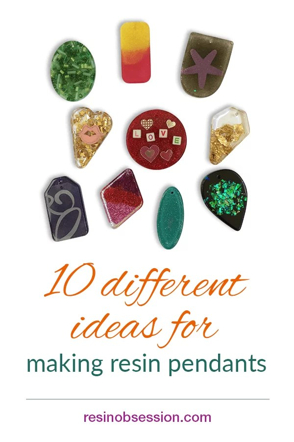 easy resin pendant ideas