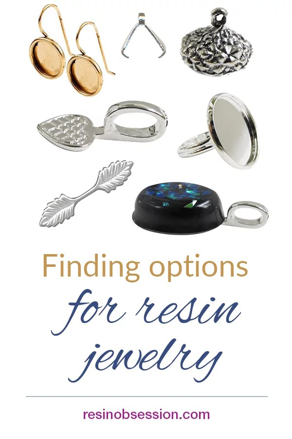 How to make resin charms into wearable jewelry