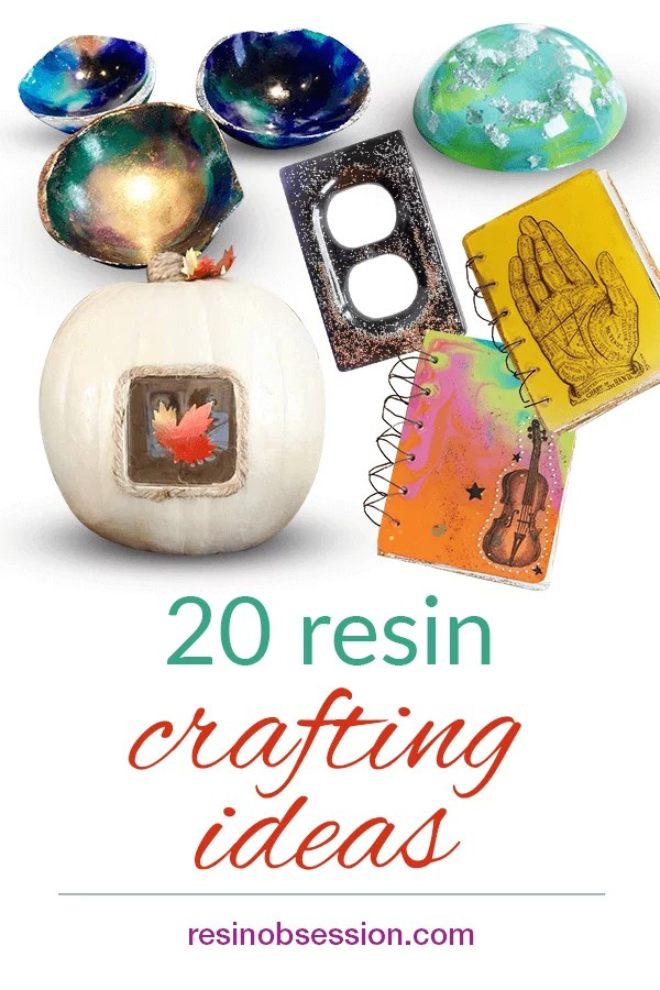 Resin Crafts 20 Diy Projects Learn Resin Crafting Resin