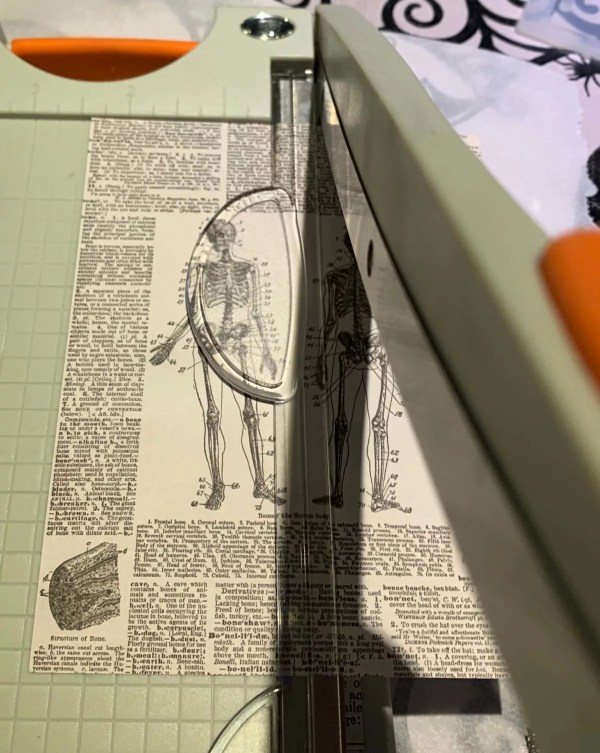 cutting paper for resin crafts