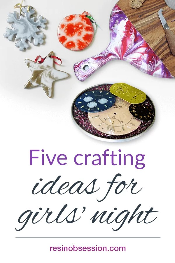 crafts for ladies groups