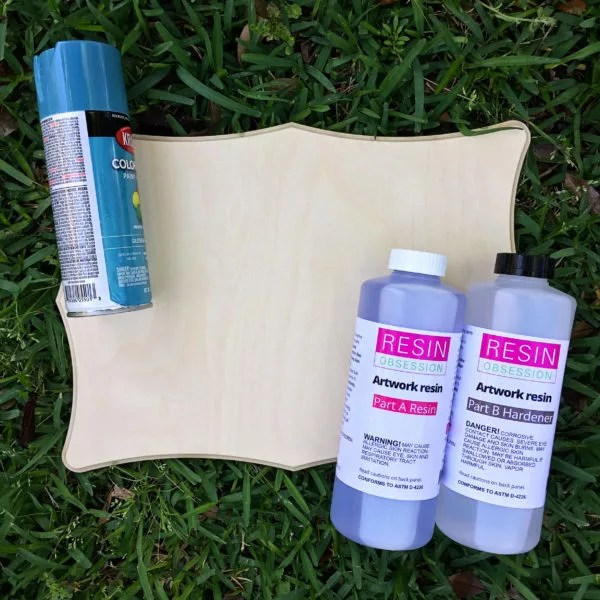 resin supplies for mothers day gift