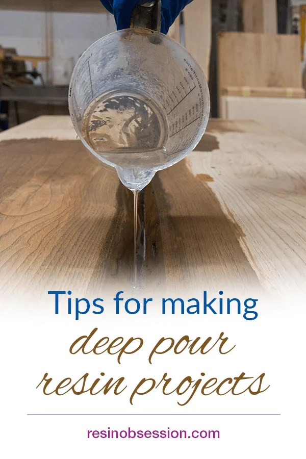 deep pour resin casting tips