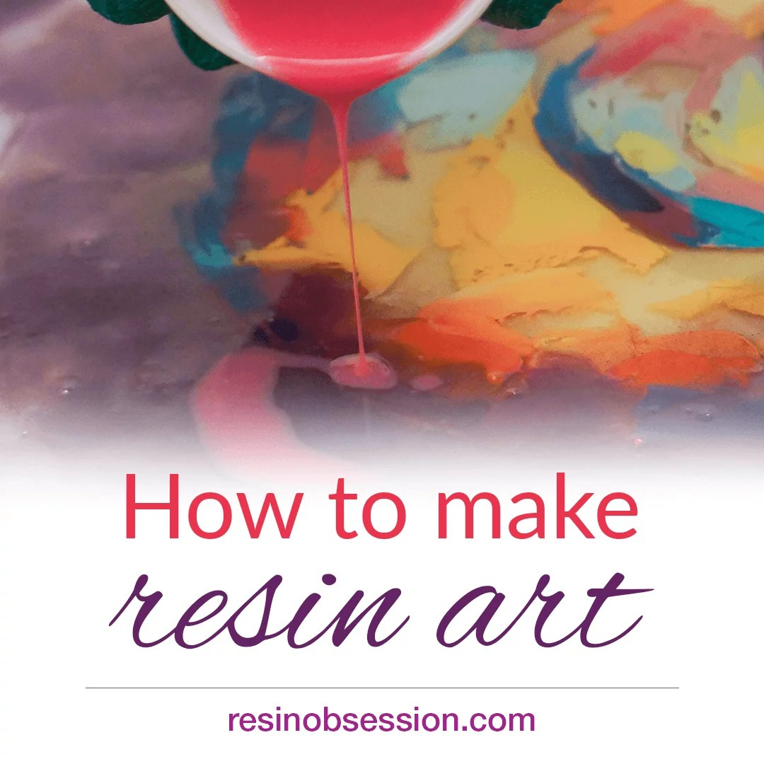 how to paint with resin