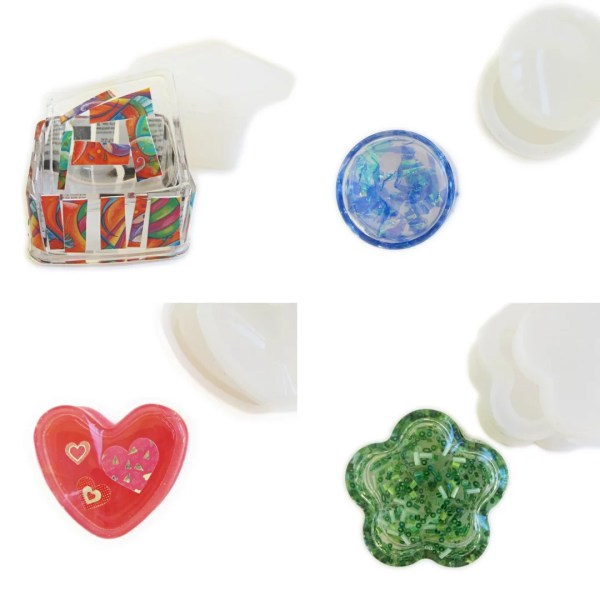 resin trinket boxes
