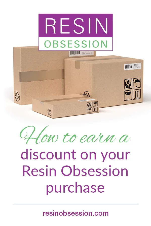 Resin Obsession discount code