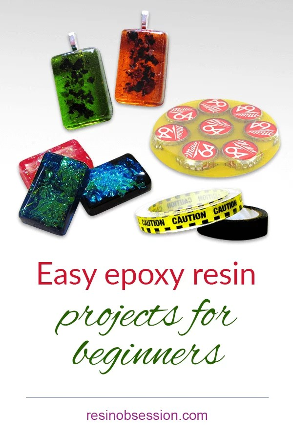 Ten easy epoxy resin projects for beginners